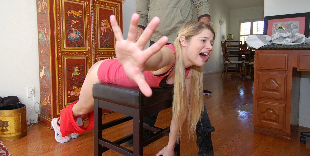 Clips Firm Hand Spanking#7